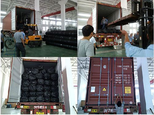 Package of HDPE Uniaxial Geogrid