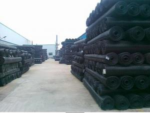 HDPE Uniaxial Plastic Geogrid with High Tensile Strength for Retaining Wall/Road Consturction