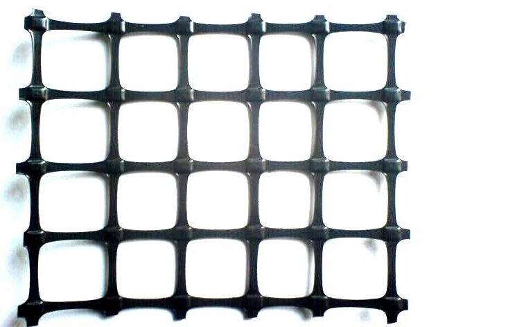 High Tensile HDPE Uniaxial Geogrid for Retaining Wall/Road Construction(CE&factory)