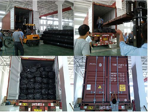 Polyester Geogrid Packing and Delivery