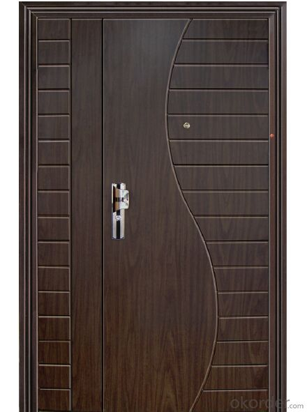 MDF Board Coated Armored Door Manufactory