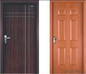 Steel Skin Wood Edge Security Door Manufactory