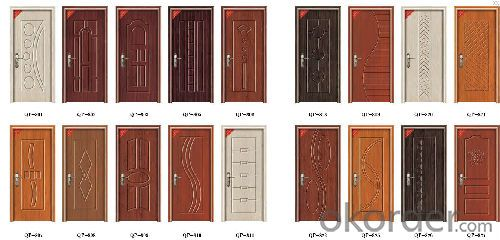 MDF Door with Reliable Quality and 2015 New Elegant Design