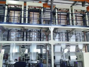 Three Layer C0-extrusion Blown Film Machine Shopping Bag Making Machine