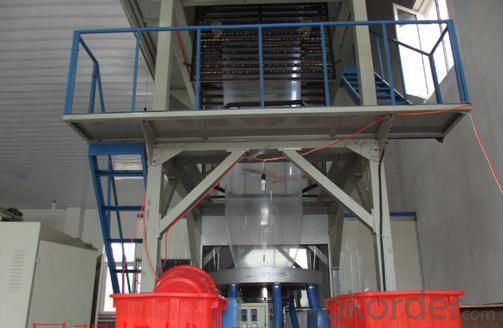 Three Layer C0-extrusion Blown Film Machine Shopping Bag Making Machine