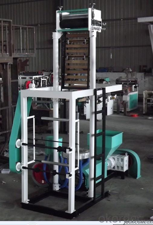 HDPE High Speed Blown Film Machine T-skirt Bag Making Machine