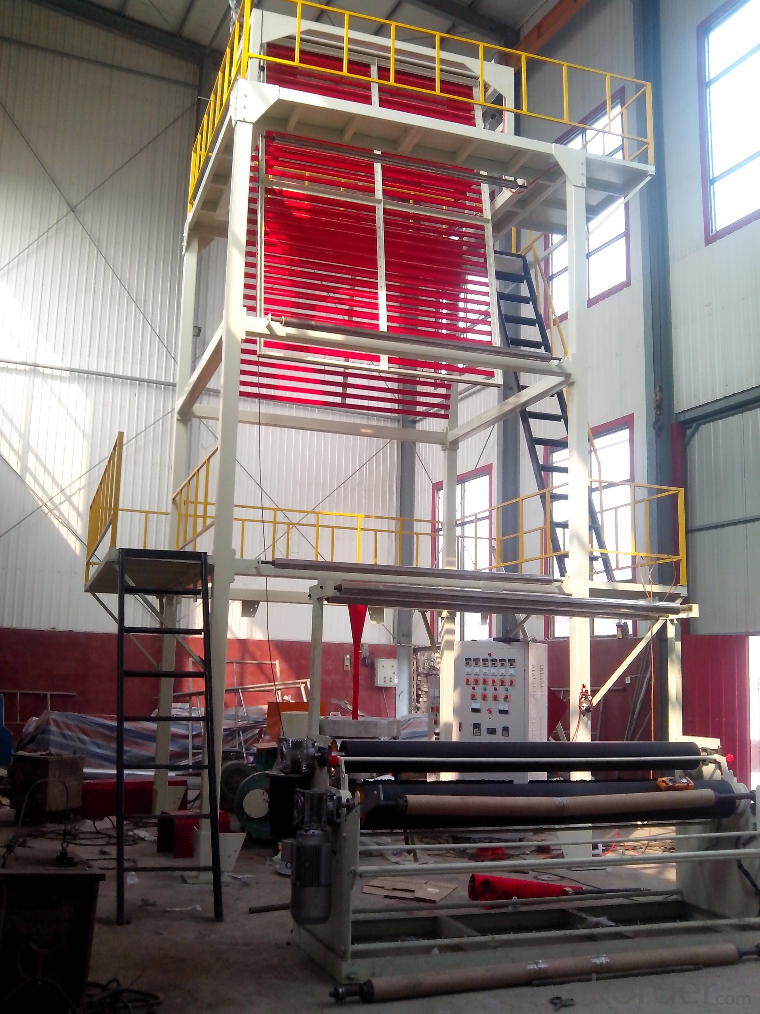 LDPE/LLDPE/HDPE Triple Purpose Blown Film Extruder