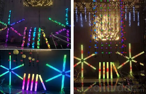 LED Video Curtain Television Bar Full Color LED CMAX-X6