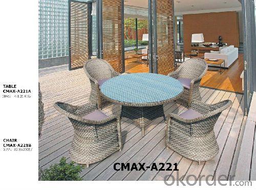 Classics Rattan Outdoor Furniture Dinning Set CMAX-A221
