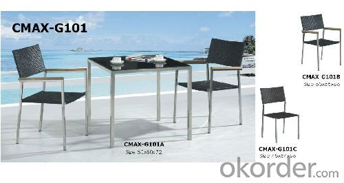 Fashion style rattan outdoor furniture