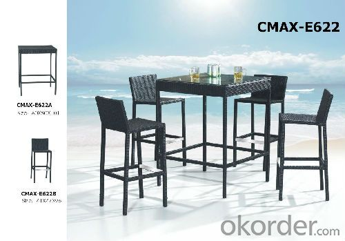 Hot Sale Outdoor Furniture Bar Sets for Beer CMAX-E622
