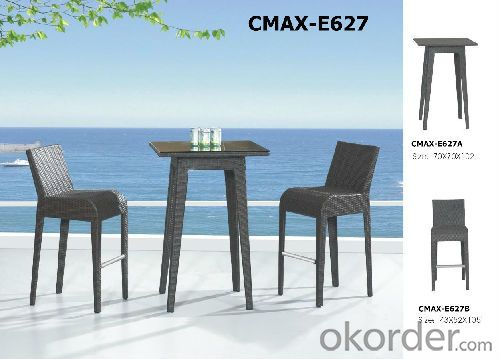 Nice Design Rattan Bar sets for Outdoor Furnitue CMAX-A727
