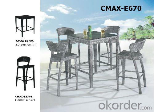 Garden Outdoor Furniture PE Rattan CMAX-E670