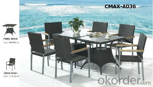 Popular High Quality Outdoor Furniture Dinning Sets CMAX-A036