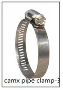 two holes stainless steel pipe clamp