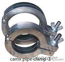 stainless steel clamp lost wax casting