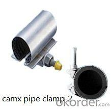 stainless steel wall mount pipe clamp