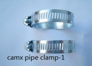 stainless steel heavy duty pipe clamp