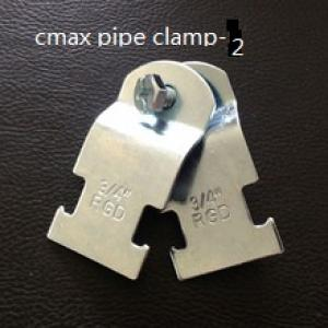 pipe clamp m8+10 with epdm rubber pipe