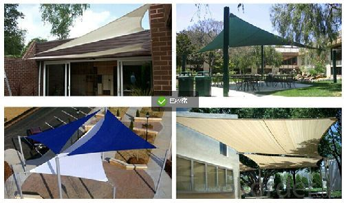 Carpot or Awnings for kidgard  Patio Shade Sail and for House and Garden