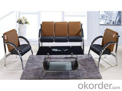 Office Sofa Mental Frame with Simple Design