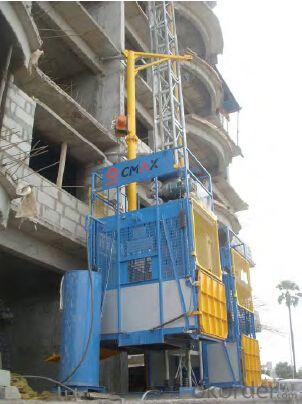 Construction Hoist SC120Z,gearing adopts imported bearing, enameled cable, and oil seal