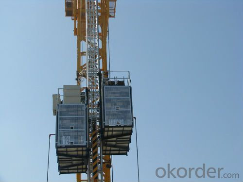 Construction Hoist SC160/160 33m/min for Building