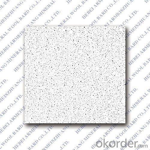 Moistureproof Fine Fissured  Mineral  Fiber Ceiling Factory