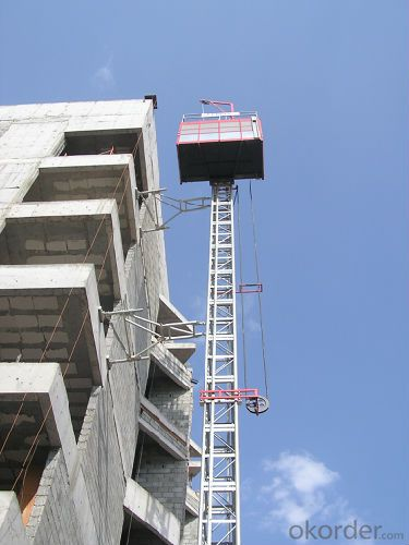 Building Hoist SCD300/300 Lifting for Construction