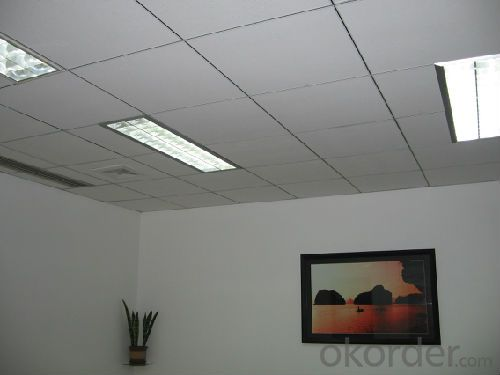 Decoration Acoustic  Mineral  Fiber  Ceiling