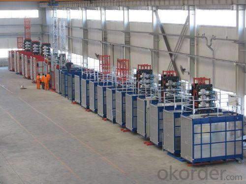 Building Hoist SC300/300 Lifting Payload 2*3000kg