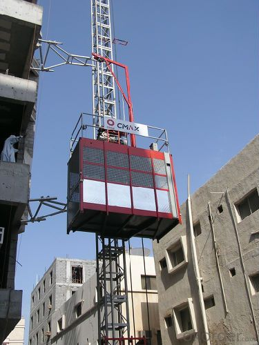 Building Hoist Lifter SCD200 with Counterweight