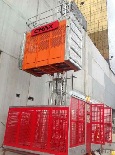 sc200/200 3*2*11kw building electric hoist