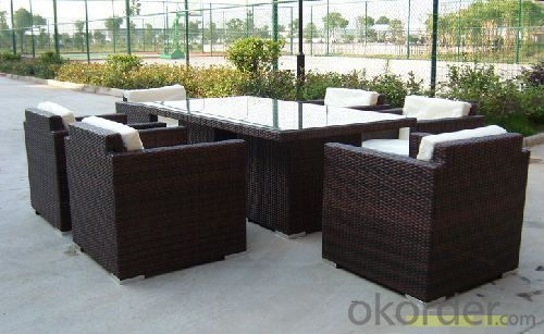 Buy Garden Wicker Sofa Aluminum Frame PE Rattan Outdoor Patio Furniture Price