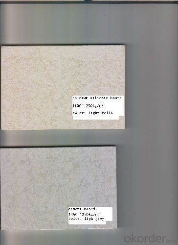 Competitive Price for Light Weight Calcium Silicate Board