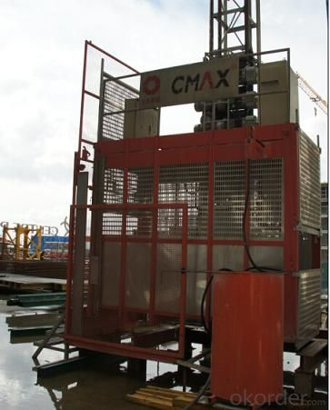 BBM 2 Normal Building Hoist wih Hot galvanized Mast