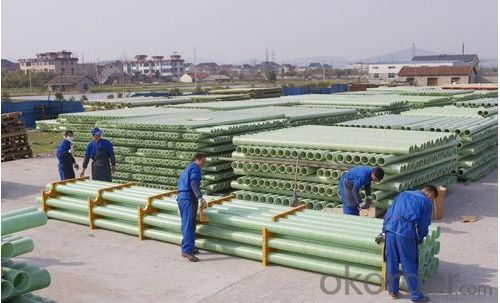 FIBER GLASS REINFORCED PLASTICS PIPE DN400