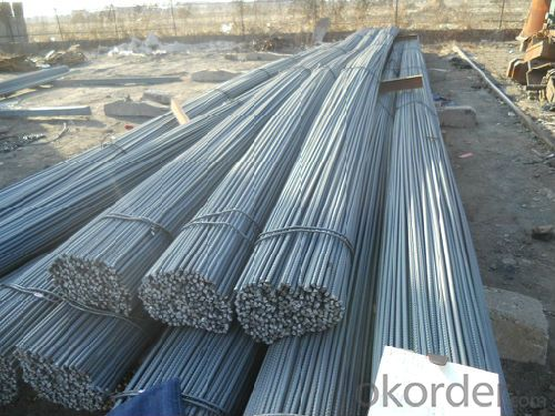 Hot Rolled Deformed Steel Rebars for Construction HRB400,500