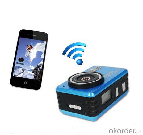 Full 1080p HD Sports Camera Wifi With 30M Waterproof