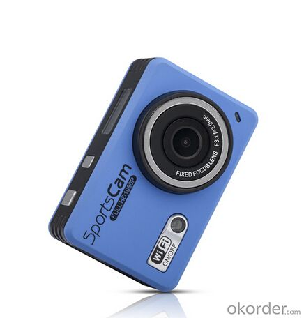 Full 1080p HD Sports Camera Wifi With 30M Waterproof