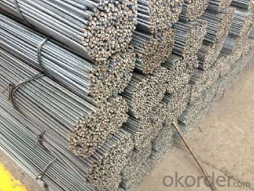 Hot Rolled Deformed Steel Rebars for Construction ASTM GR40, 60