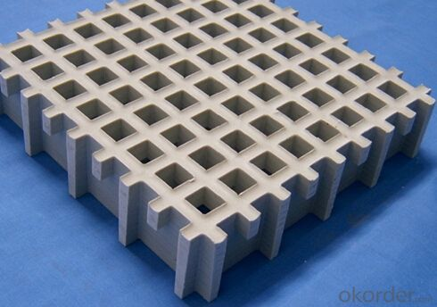 FRP Molded  Grating For Car Parking