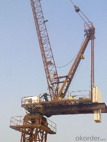 Tower Crane Requirements : Buy luffing tower crane tcd t manufacturer price
