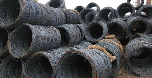 High Quality Steel Wire Rod SAE1008 6.5mm