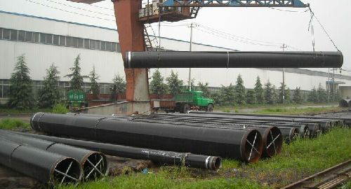 Longitudinally welded steel pipe LSAW / ERW