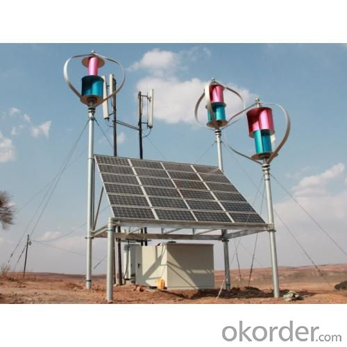 Maglev Wind Power Solar Wind Powered Street Lights