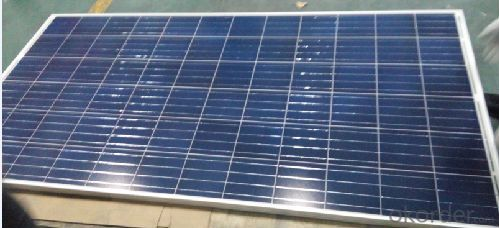 Poly Crystalline Solar Panel with 140 to 300W Power