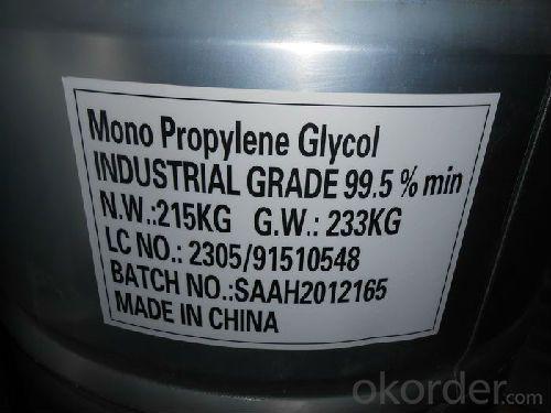MONO PROPYLENE GLYCOL INDUSTRIAL GRADE