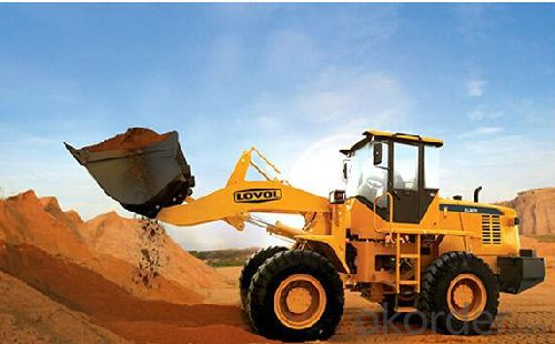 Wheel-loader: FL938G, WEICHAI WP6G140E22 as Standard Configuration