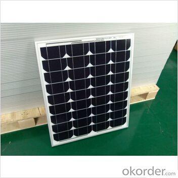 Monocrystalline40W PV Solar Panel Solar Module